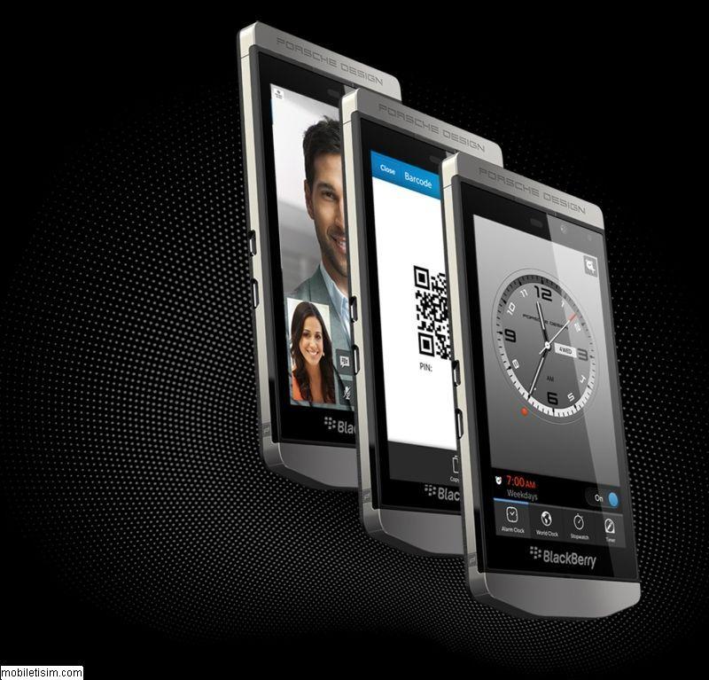 Blackberry Porsche Design P9982 Resimler Mobiletişim